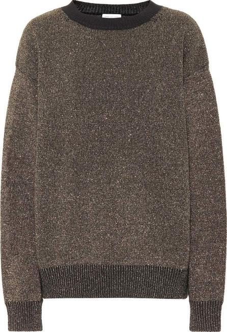 Dries Van Noten Metallic wool-blend sweater