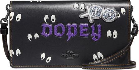 COACH 1941 DISNEY X COACH Dopey Fold-Over Crossbody Clutch Bag