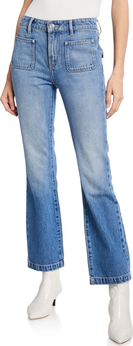 Current/Elliott The Cropped Boot Jeans