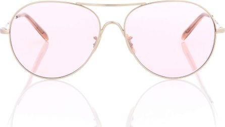 Oliver Peoples Rockmore aviator sunglasses