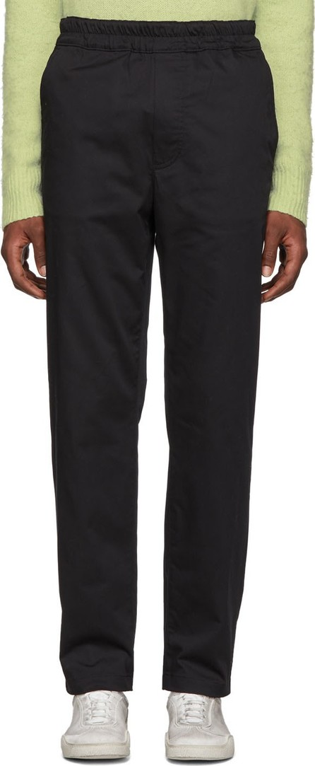 Acne Studios Black Paco Sporty Trousers