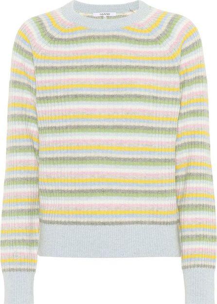 Ganni Mercer wool and yak-blend sweater