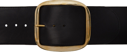 Charles Jeffrey Loverboy Black Oversized Waist Belt