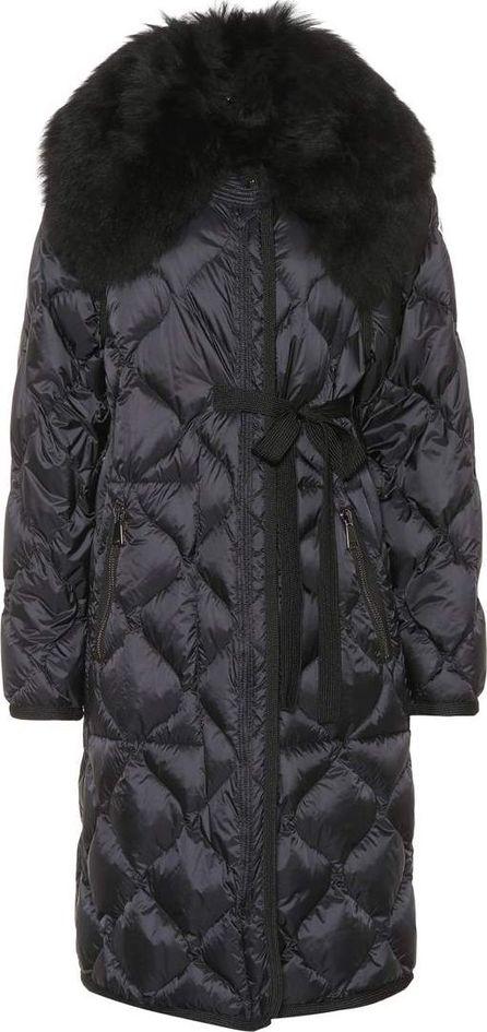 Moncler Ceanothu fur-trimmed down coat
