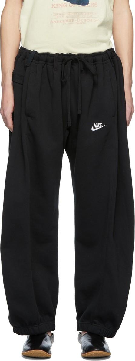 Bless SSENSE Exclusive Black Denim Overjoggingjeans Lounge Pants