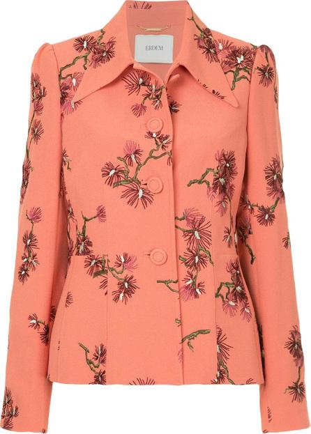 Erdem Floral print suit jacket