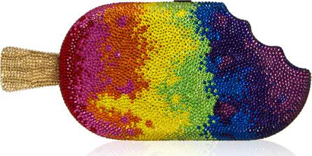 Judith Leiber Popsicle Rainbow Clutch Bag