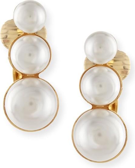 Auden Lana Pearly Clip-On Earrings