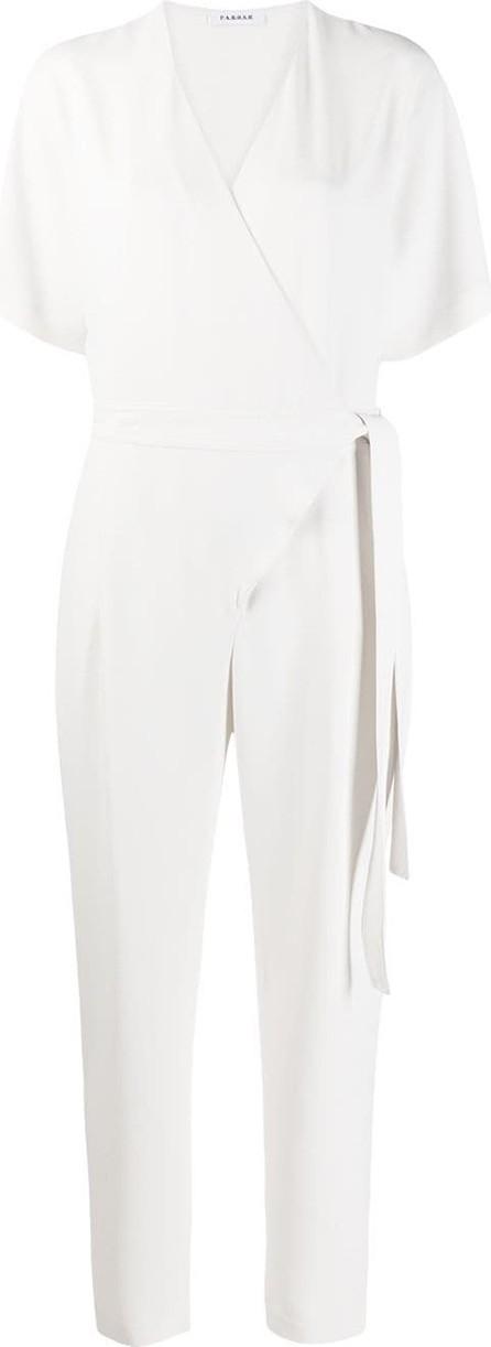 P.A.R.O.S.H. Short-sleeve wrap jumpsuit