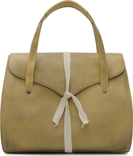 Cherevichkiotvichki Beige Ribbon Big Bag