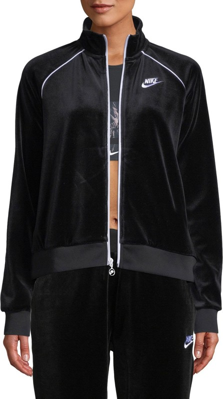 Nike Velour Track Jacket, Black