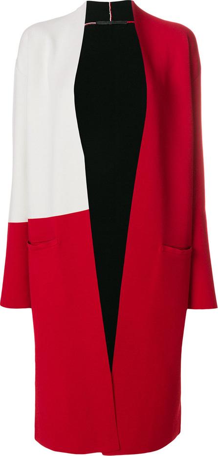 Haider Ackermann Single-breasted colour block coat