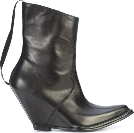 Ben Taverniti Unravel Project pointed toe wedge boots