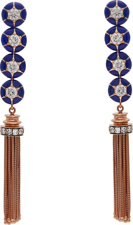 Selim Mouzannar Sea Flowers diamond & 18kt rose-gold earrings