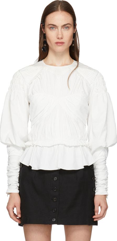 Isabel Marant White Ullo Blouse