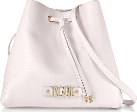 Alviero Martini 1A Classe Alegria Smile Saffiano Print Bucket Bag