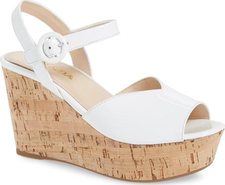 Prada Wedge Platform Sandal