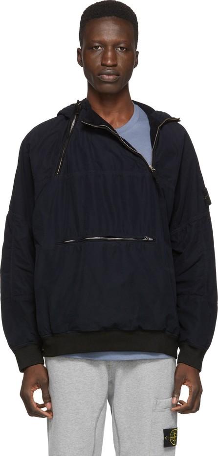 Stone Island Navy Pullover Jacket