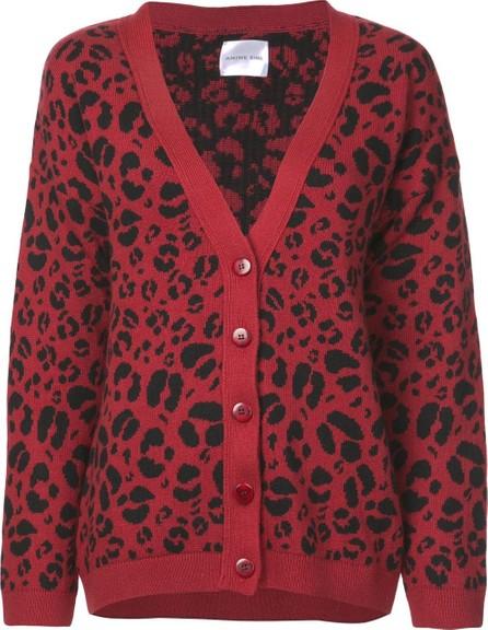 ANINE BING Justine leopard print cardigan