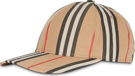 Burberry London England Icon stripe baseball cap