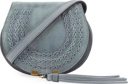 Chloe Marcie Mini Suede Crossbody Bag