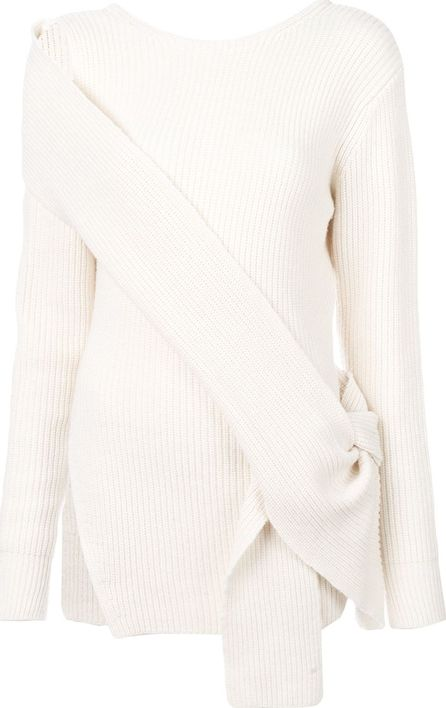 3.1 Phillip Lim side-tied ribbed sweater