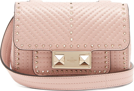 Valentino Ziggystud small quilted-leather shoulder bag