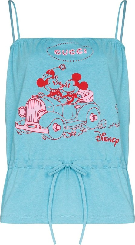 Gucci Mickey Mouse-print top