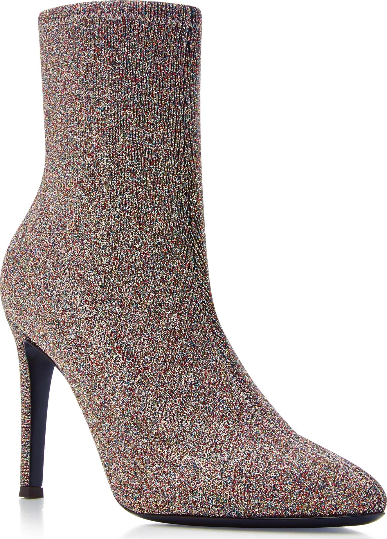 Giuseppe Zanotti - Natalie Stretch-Knit Ankle Boots