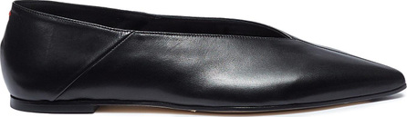 Aeyde 'Moa' choked up leather flats