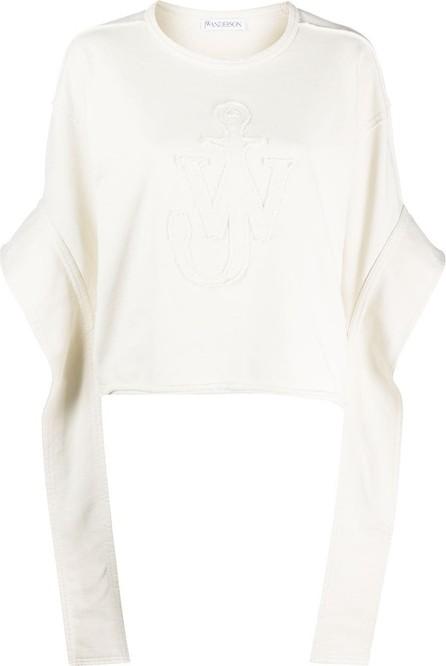 J.W.Anderson Anchor elongated sleeves sweatshirt