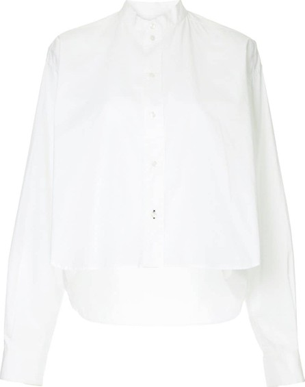 Bassike Raw cropped shirt
