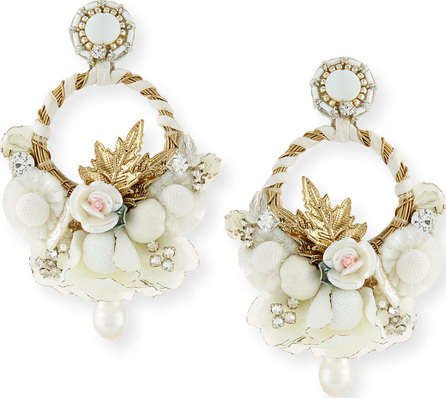 Ranjana Khan Yvonne Clip-On Chandelier Earrings