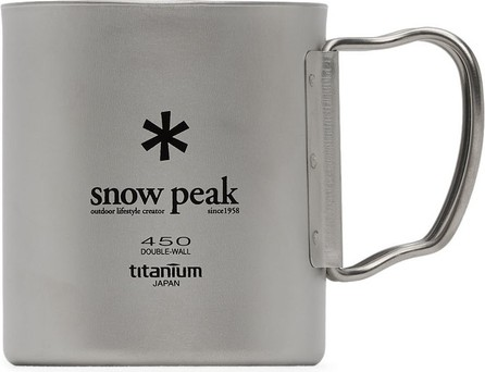 Snow Peak Silver Double Wall 450 Mug
