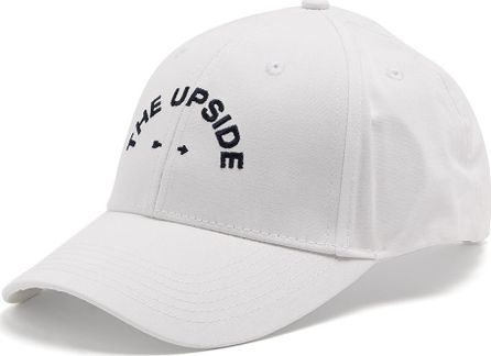 The Upside Logo-embroidered cotton cap