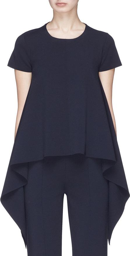 Stella McCartney Ruffle drape top