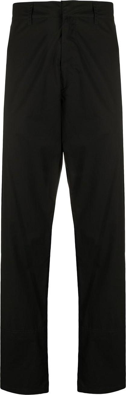 Marcelo Burlon Ankle-zip regular-fit trousers