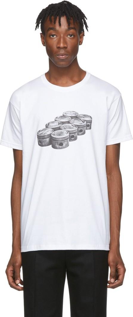 BYREDO White Craig McDean Edition Engine T-Shirt