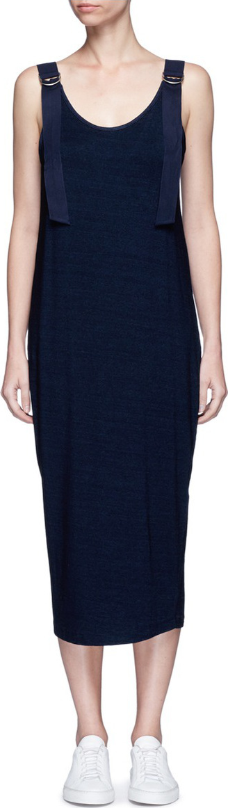 AG Jeans 'Travex' shoulder strap jersey dress