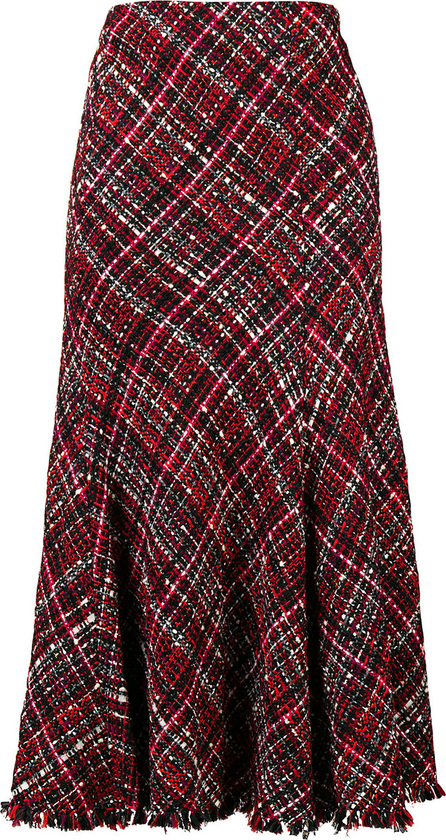 Alexander McQueen Checked midi skirt
