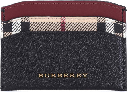 Burberry London England Leather card holder