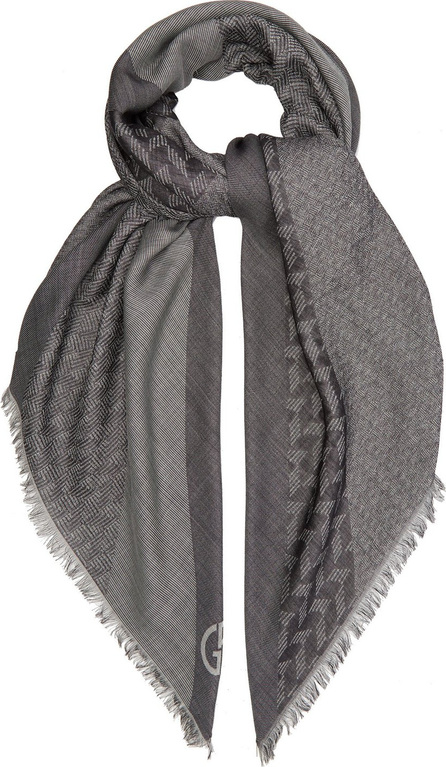 Giorgio Armani Wool and silk-blend scarf