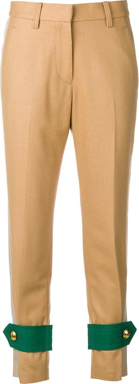 Sacai Contrast cuff trousers
