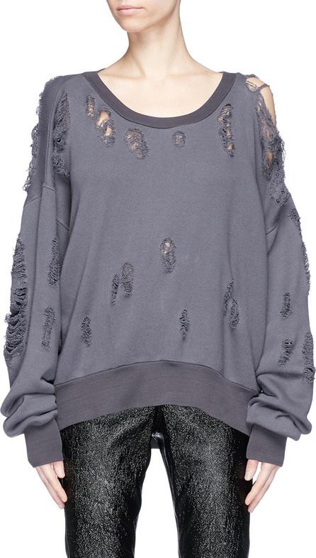 Ben Taverniti Unravel Project Distressed sweatshirt