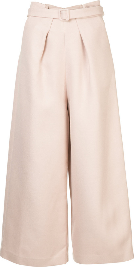 Comme Moi Cropped wide leg trousers