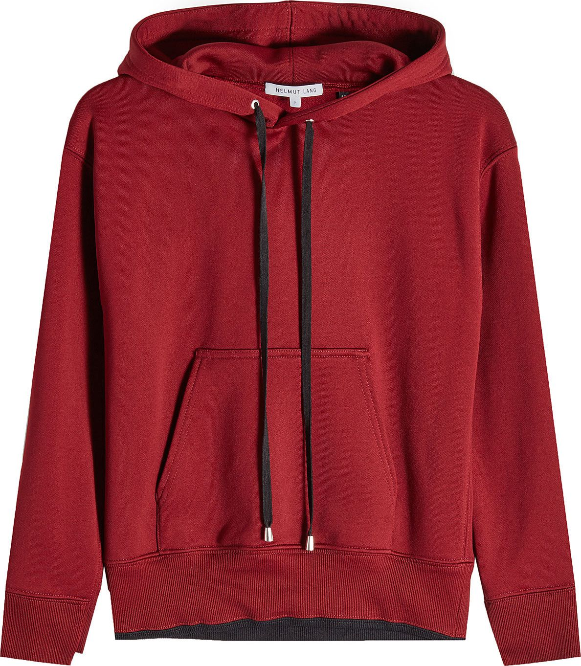 Helmut Lang - Shrunken Hoodie with Cotton