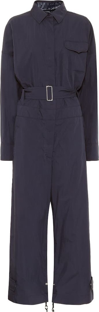 Moncler Genius 2 MONCLER 1952 Tuta cotton-blend jumpsuit