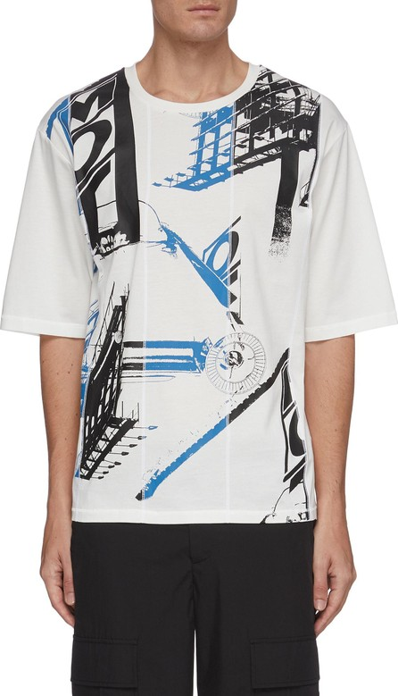 3.1 Phillip Lim Roadster print boxy T-shirt