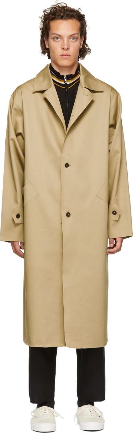 Camiel Fortgens Beige Mackintosh Trench Coat