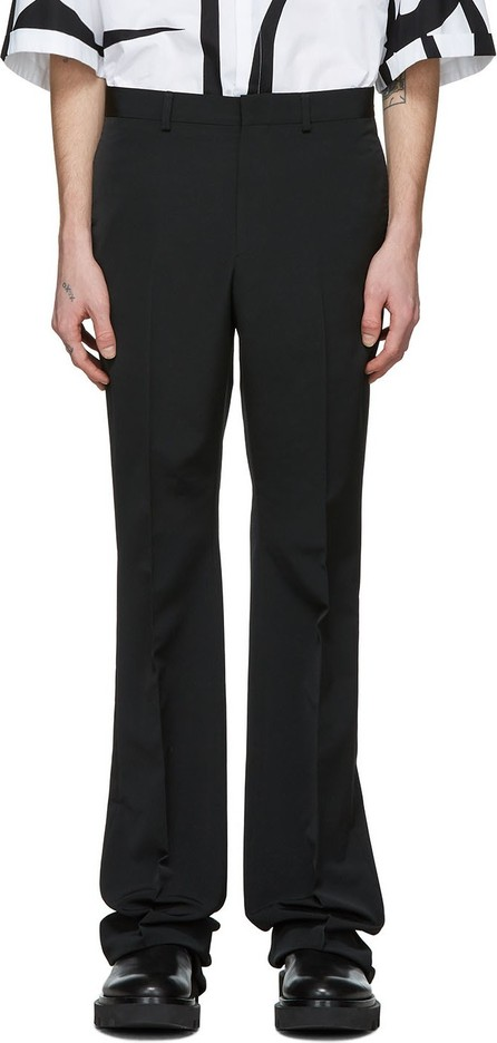 Givenchy Black Bootcut Tailored Trousers